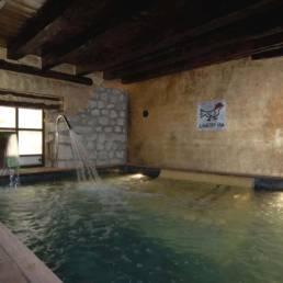 Spa Casa del Abad piscina